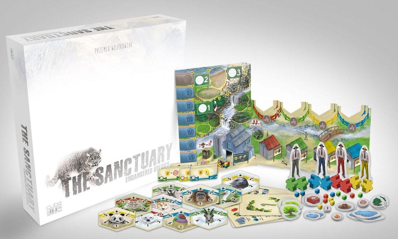 The Sanctuary: Endangered Species components