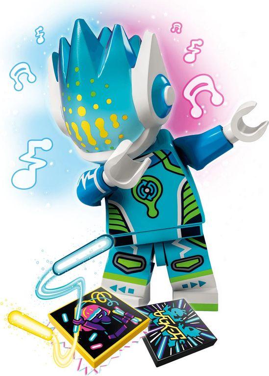 Alien DJ BeatBox minifigures