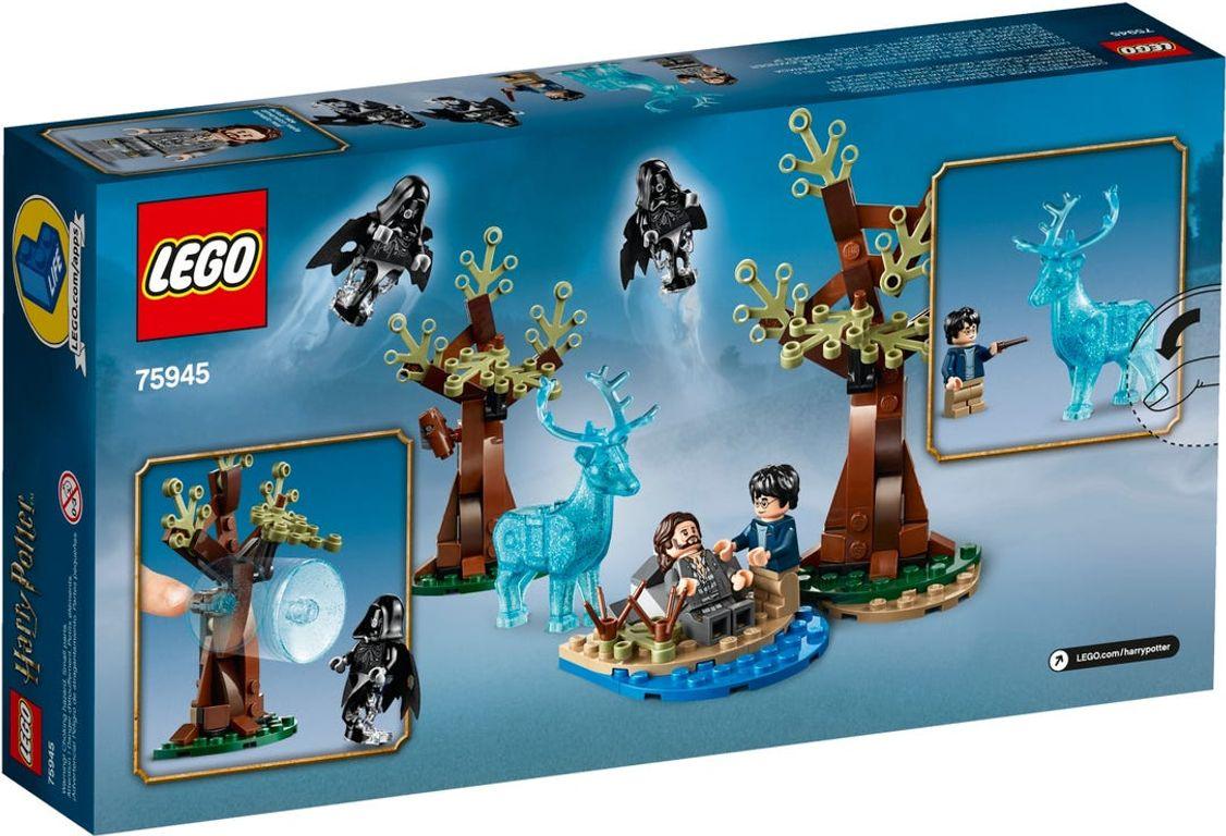 LEGO® Harry Potter™ Expecto Patronum back of the box