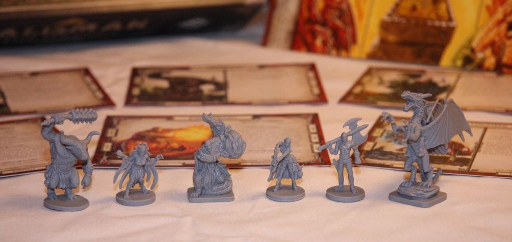Talisman (Revised 4th Edition): The Dragon Expansion miniatures
