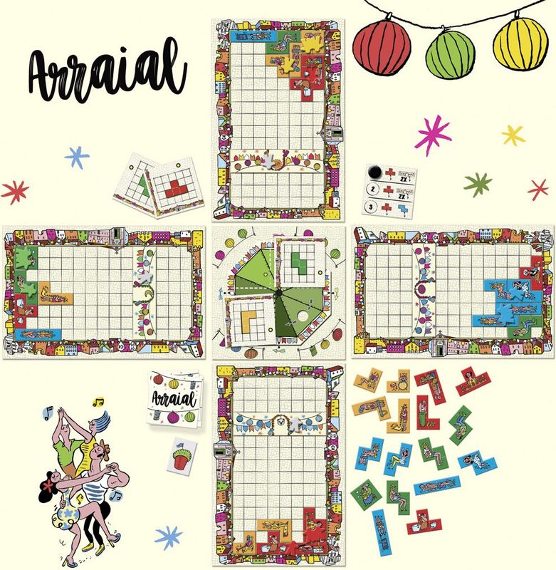 Arraial components