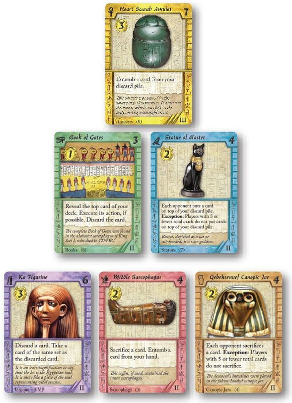 Valley of the Kings cards