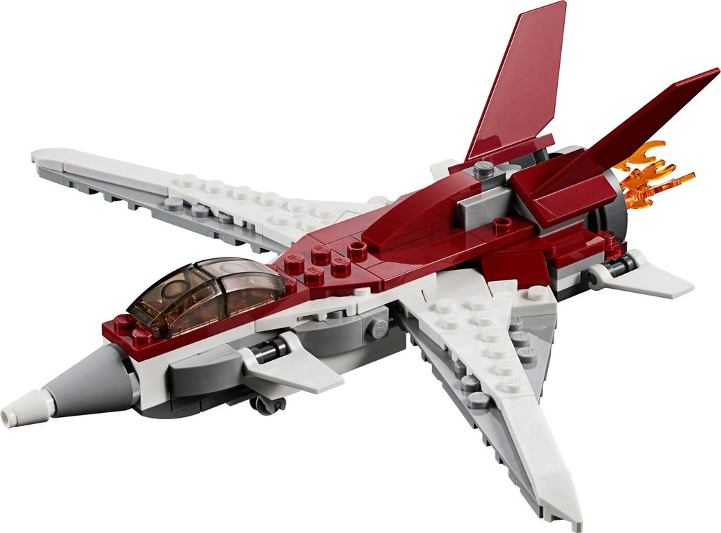 LEGO® Creator Futuristic Flyer components