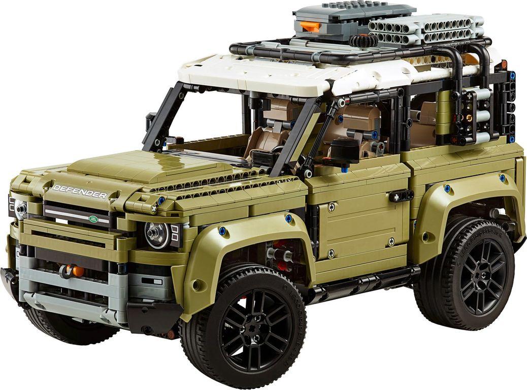 Land Rover Defender components