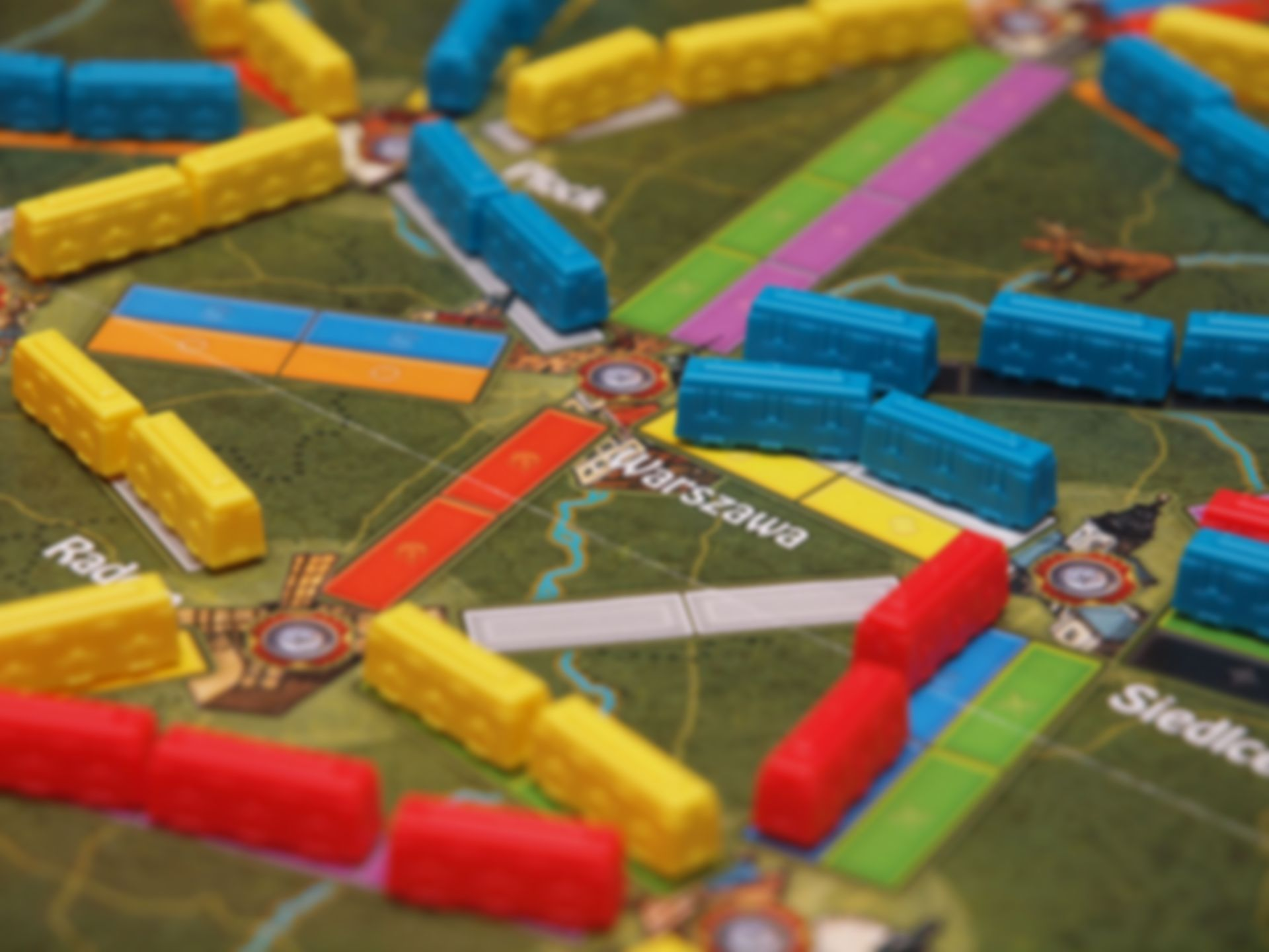 Ticket to Ride : Polska speelwijze