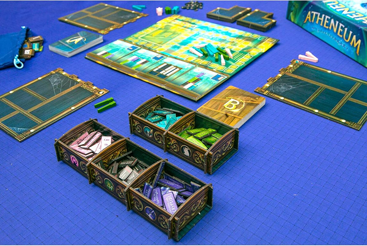 Atheneum: Mystic Library components