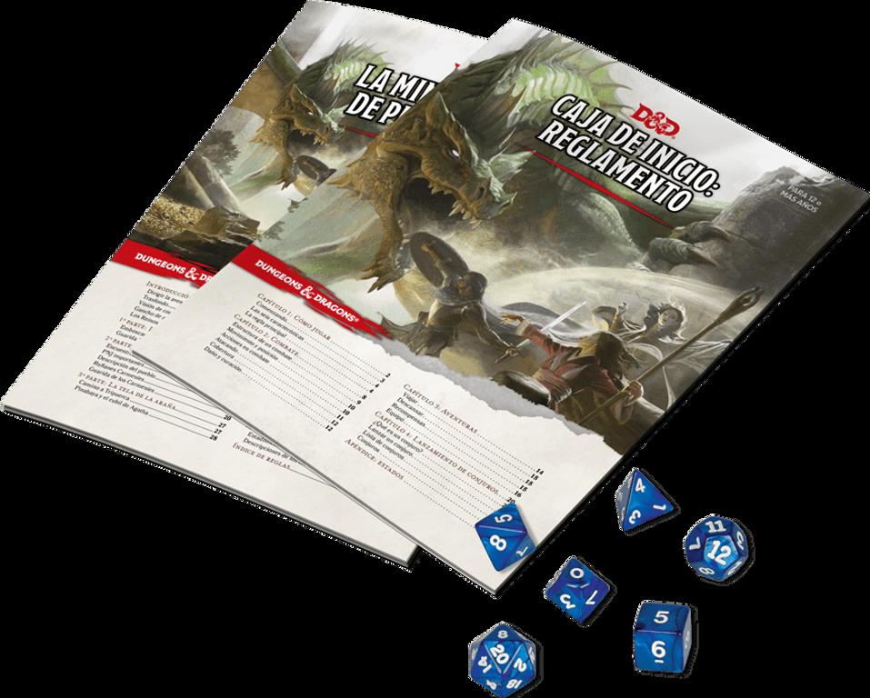 Dungeons & Dragons Starter Set components
