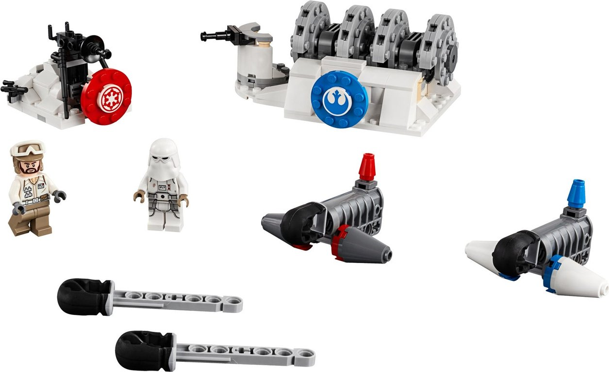 LEGO® Star Wars Action Battle Hoth™ Generator Attack components