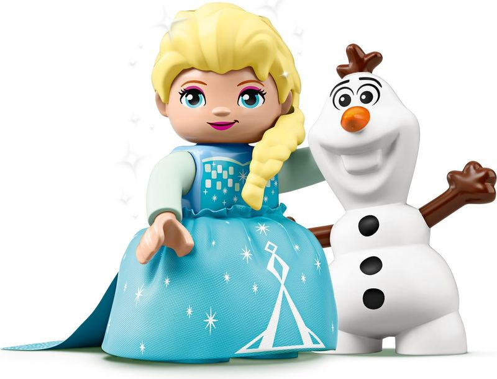 Elsa and Olaf's Tea Party minifigures