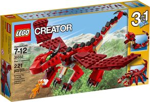 LEGO® Creator Red Creatures