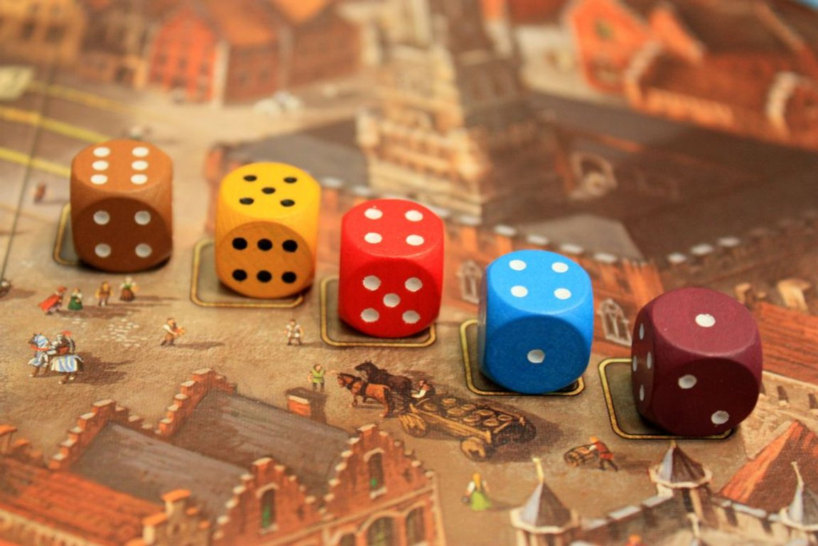 Bruges dice