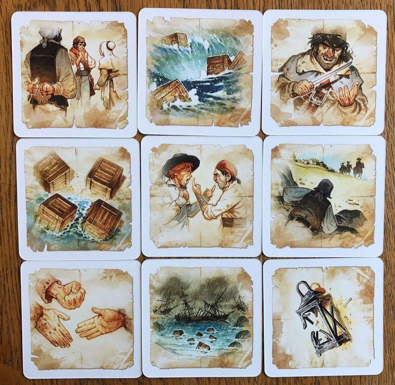 HMS Dolores cards