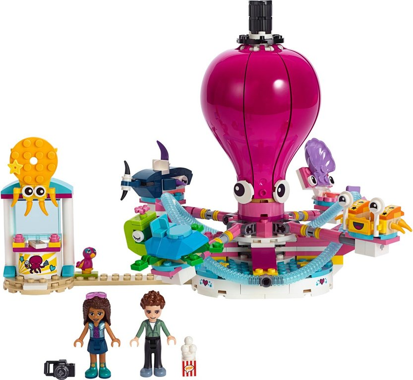 LEGO® Friends Funny Octopus Ride components