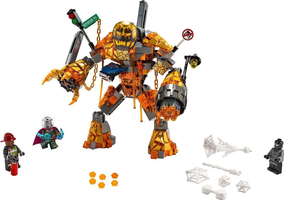 Molten Man Battle components