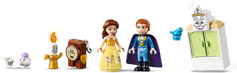 LEGO® Disney Belle's Castle Winter Celebration minifigures