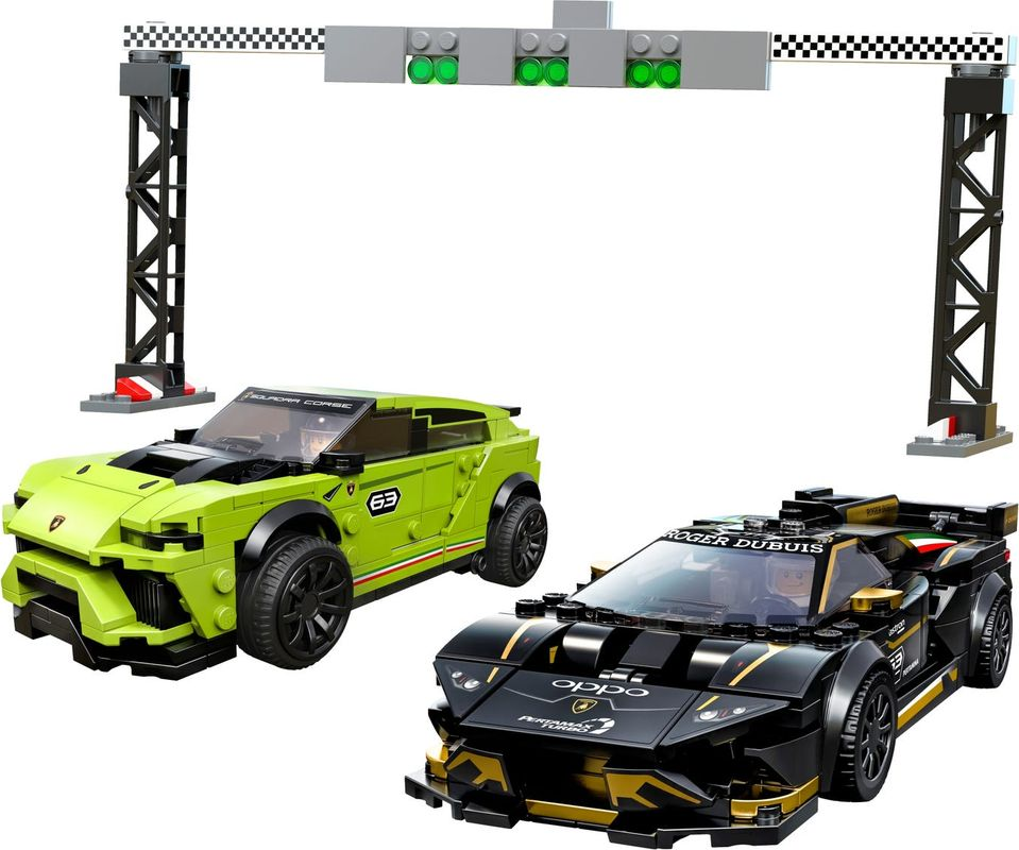 Lamborghini Urus ST-X & Lamborghini Huracán Super Trofeo EVO components