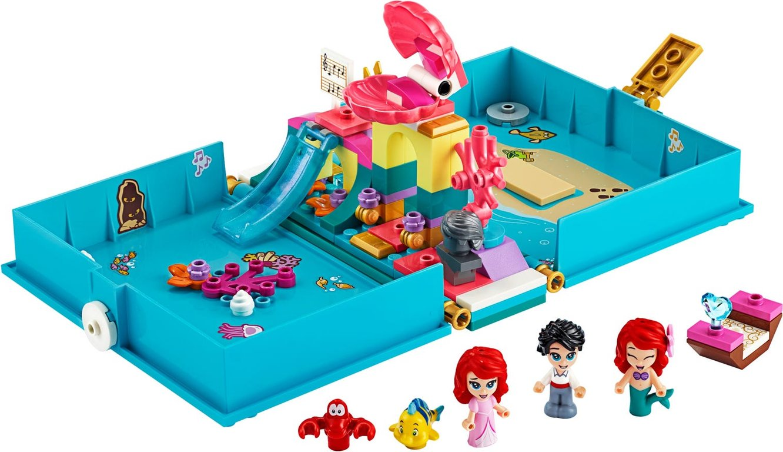 LEGO® Disney Ariel's Storybook Adventures components