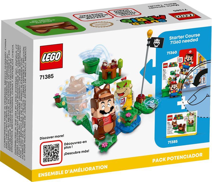LEGO® Super Mario™ Tanooki Mario Power-Up Pack back of the box