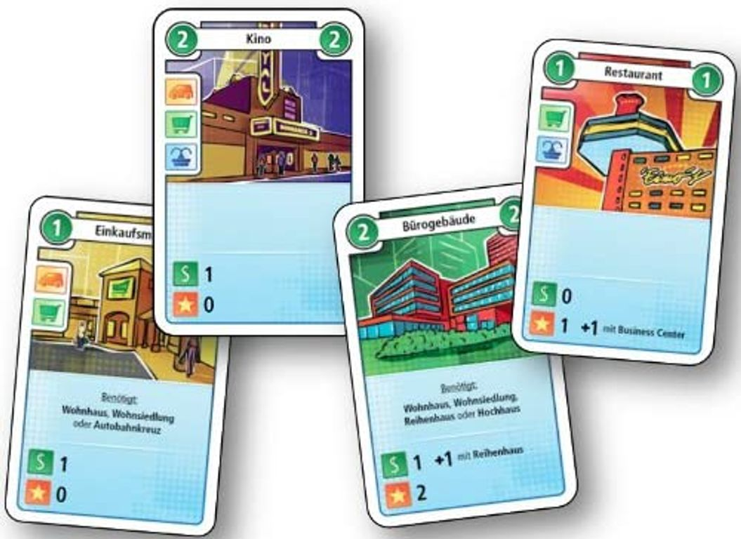 The City cards