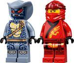 LEGO® Ninjago Kai's Blade Cycle minifigures