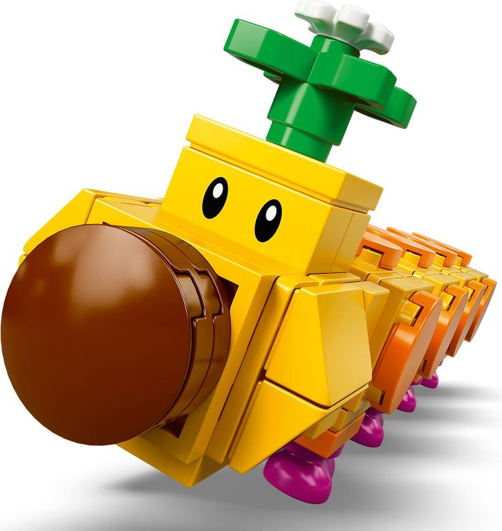 LEGO® Super Mario™ Wiggler's Poison Swamp Expansion Set components