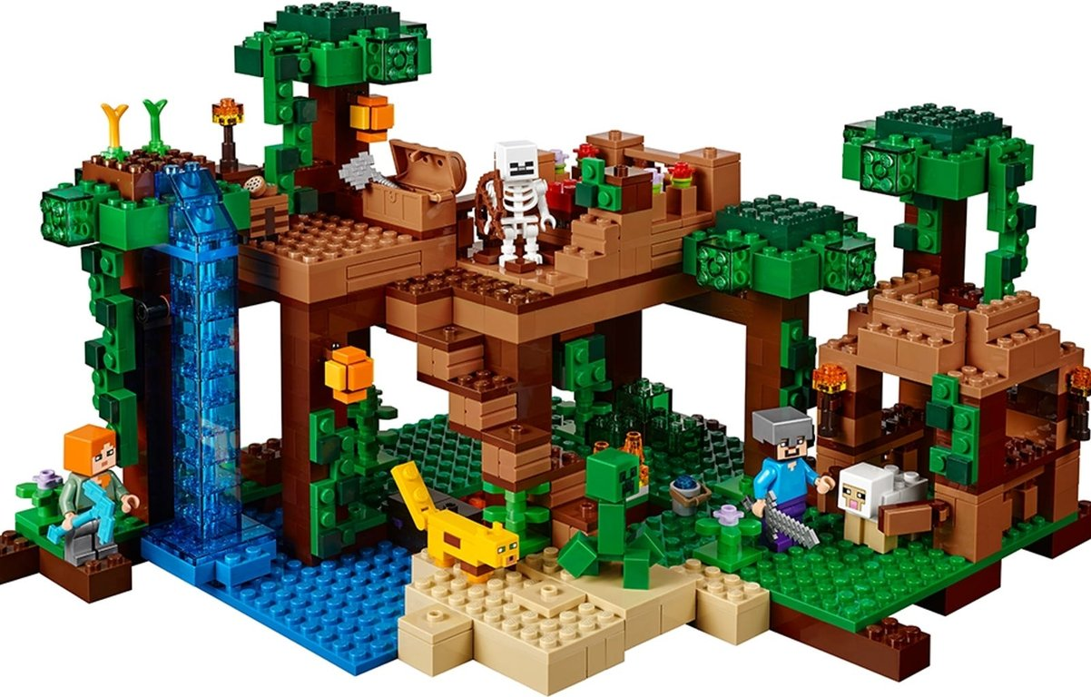 LEGO® Minecraft The Jungle Tree House gameplay
