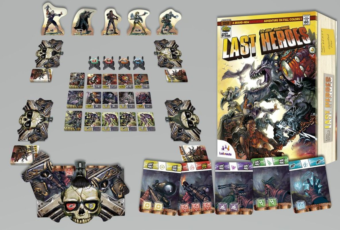Last Heroes cards