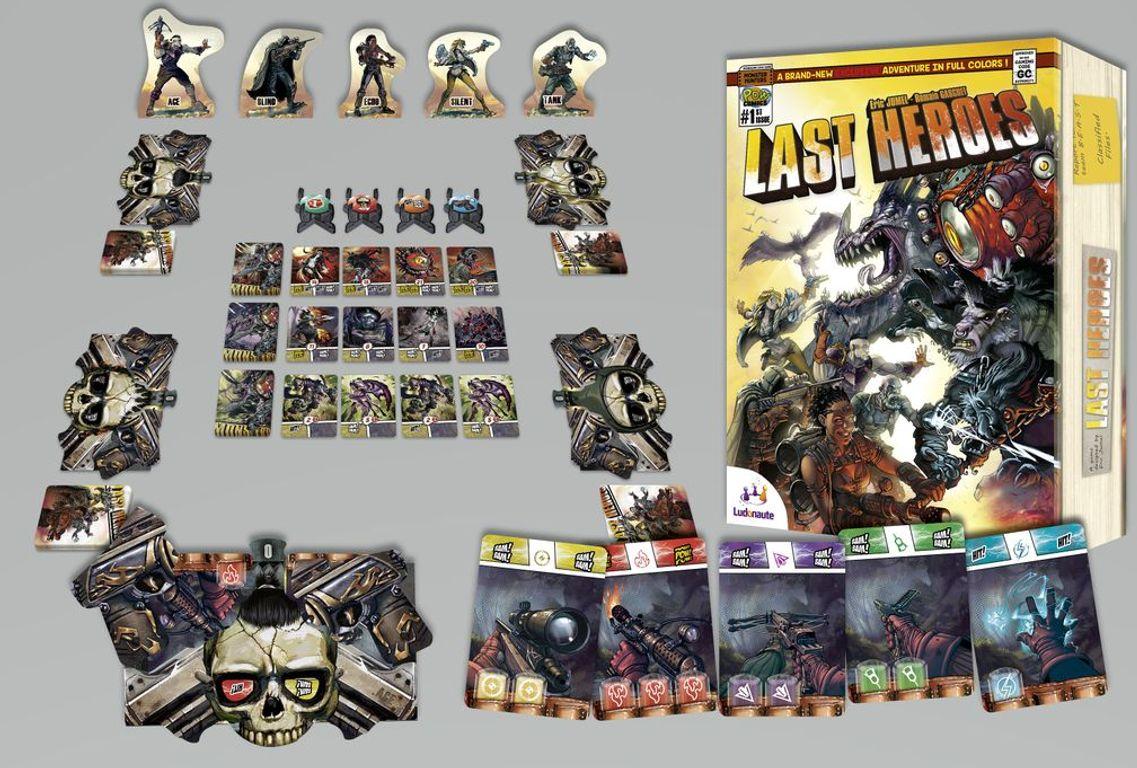 Last Heroes kaarten