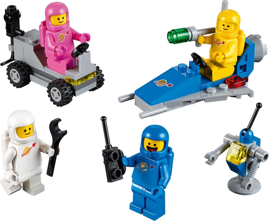 LEGO® Movie Benny's Space Squad components