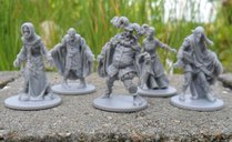 Zombicide: Black Plague - NPC-2 miniatures