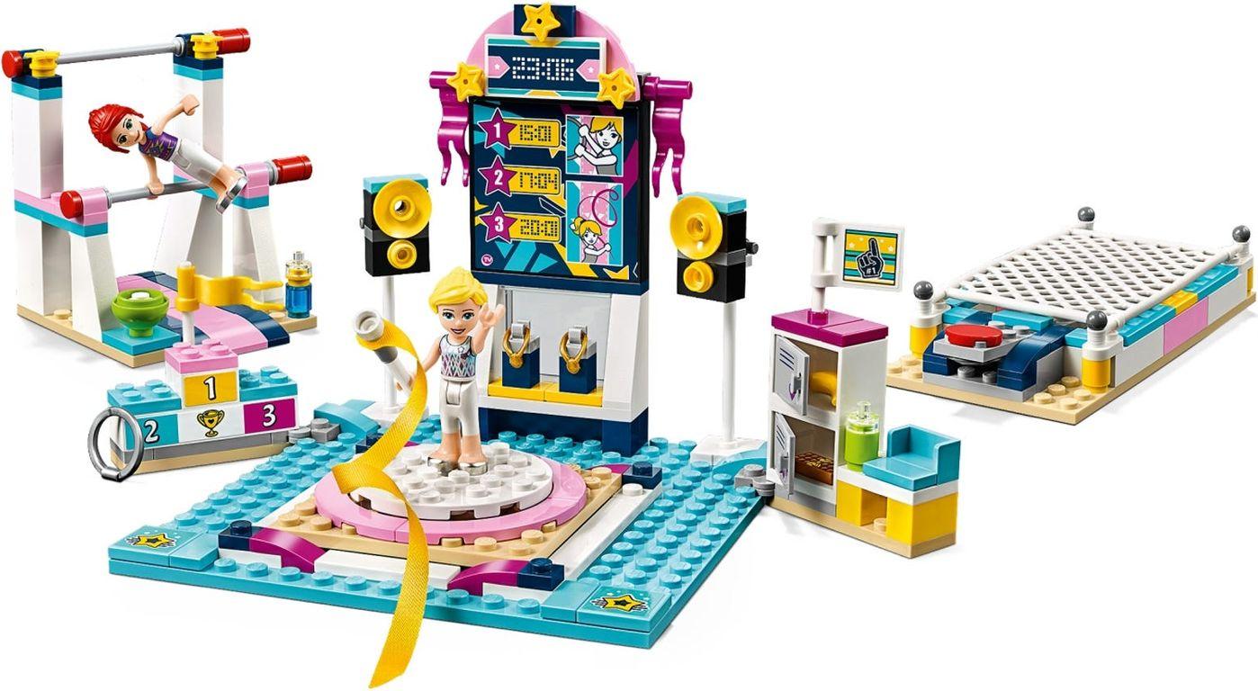 LEGO® Friends Stephanie's Gymnastics Show gameplay