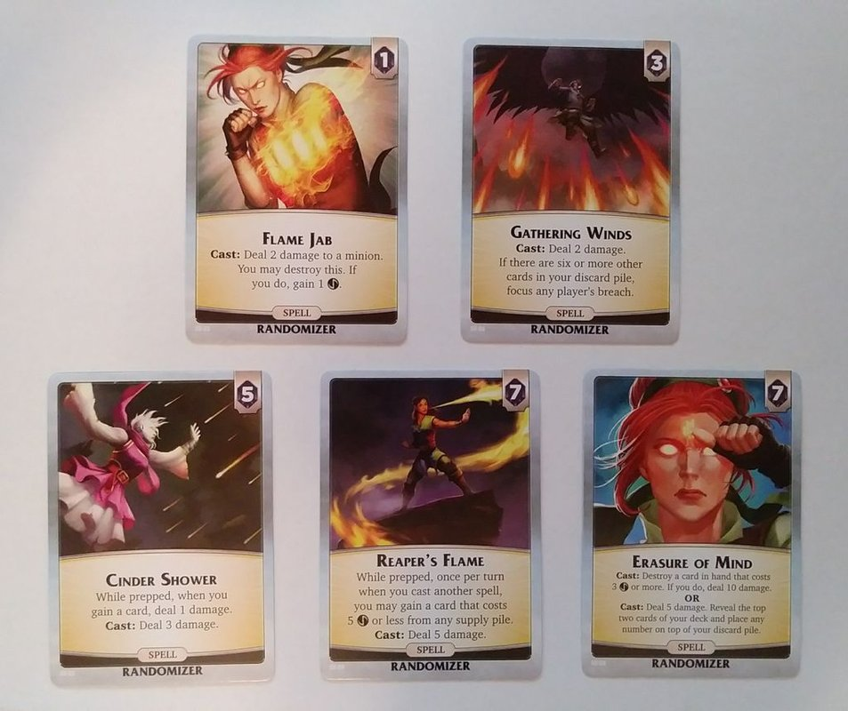 Aeon's End: Southern Village cards