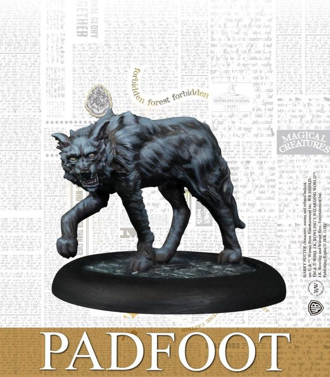 Harry Potter Miniatures Adventure Game: Order of the Phoenix Pack Padfoot miniature