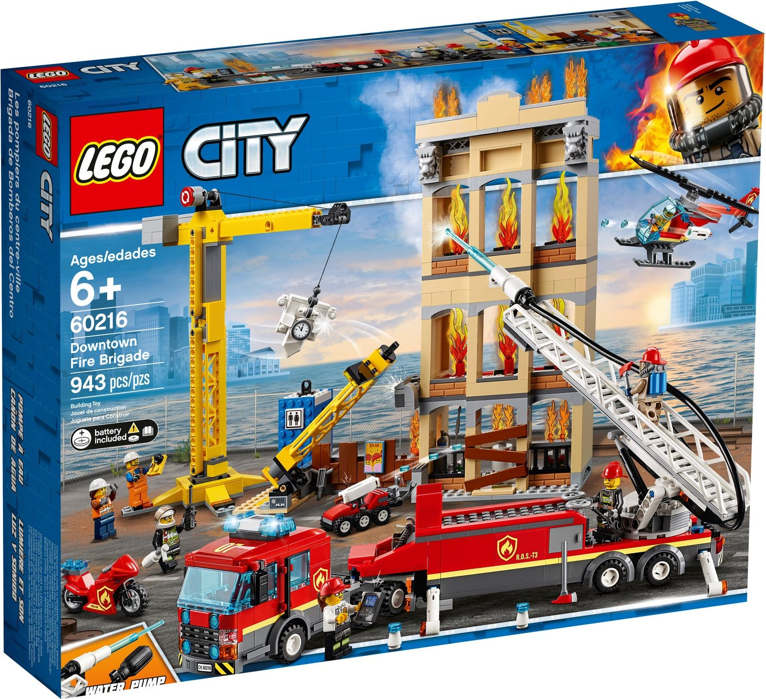 The best prices today for LEGO® City Downtown Fire Brigade ...