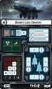 Star Wars: Armada - Imperial Assault Carriers Expansion Pack cards