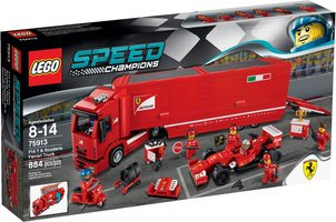LEGO® Speed Champions F14 T & Scuderia Ferrari Truck