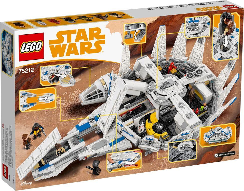 LEGO® Star Wars Kessel Run Millennium Falcon™ back of the box