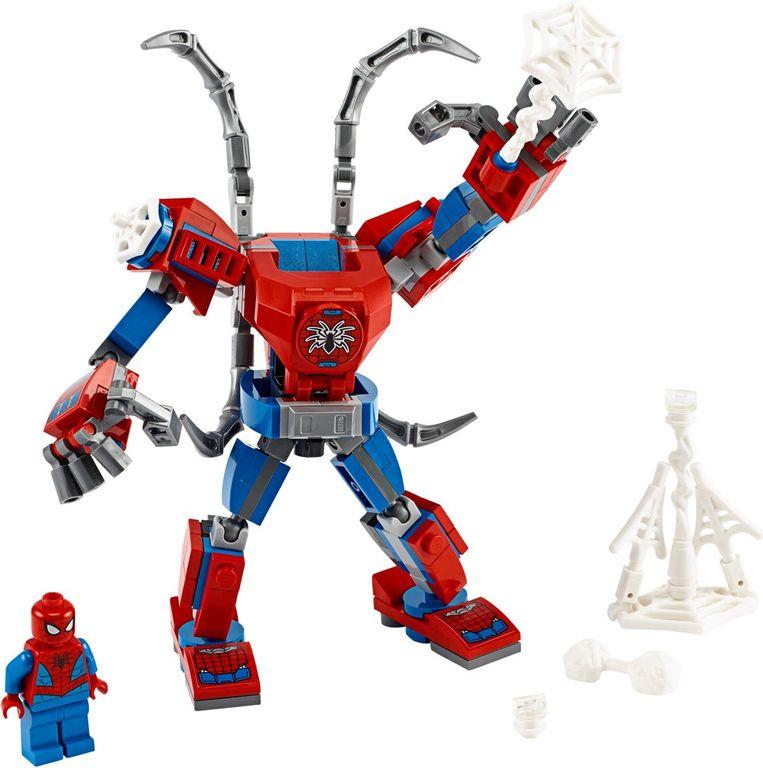Spider-Man Mech components