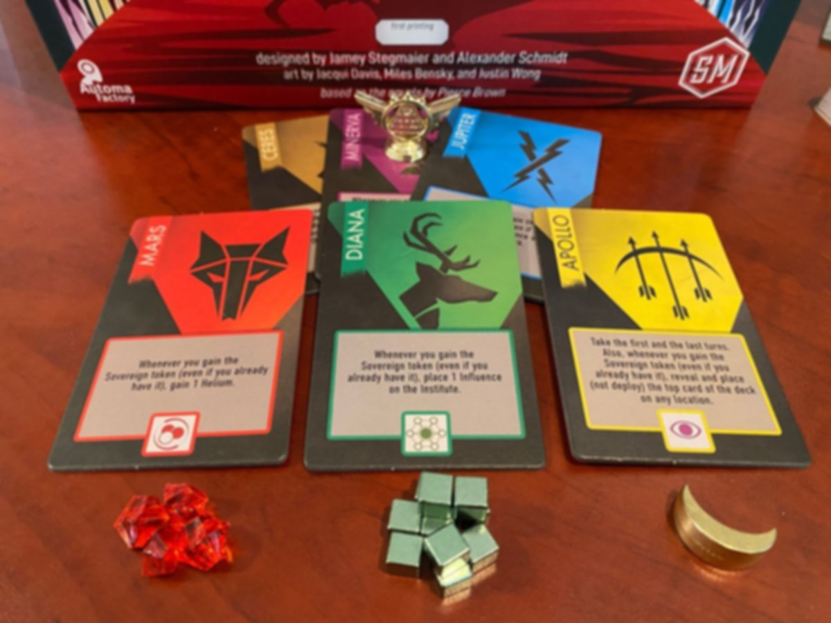 Red Rising components