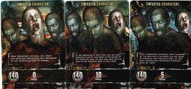 Resident Evil Deck Building Game: Outbreak cards