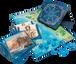 D&D Forgotten Realms Laeral Silverhand's Explorer's Kit components