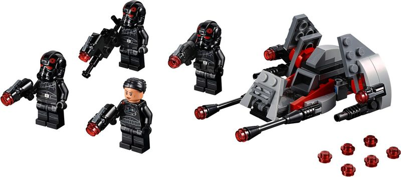 Inferno Squad™ Battle Pack components