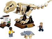 LEGO® Jurassic World T. rex Dinosaur Fossil Exhibition components