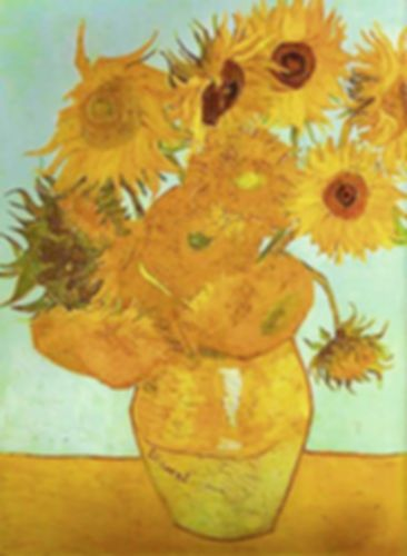 Vase with Sunflowers by Van Gogh