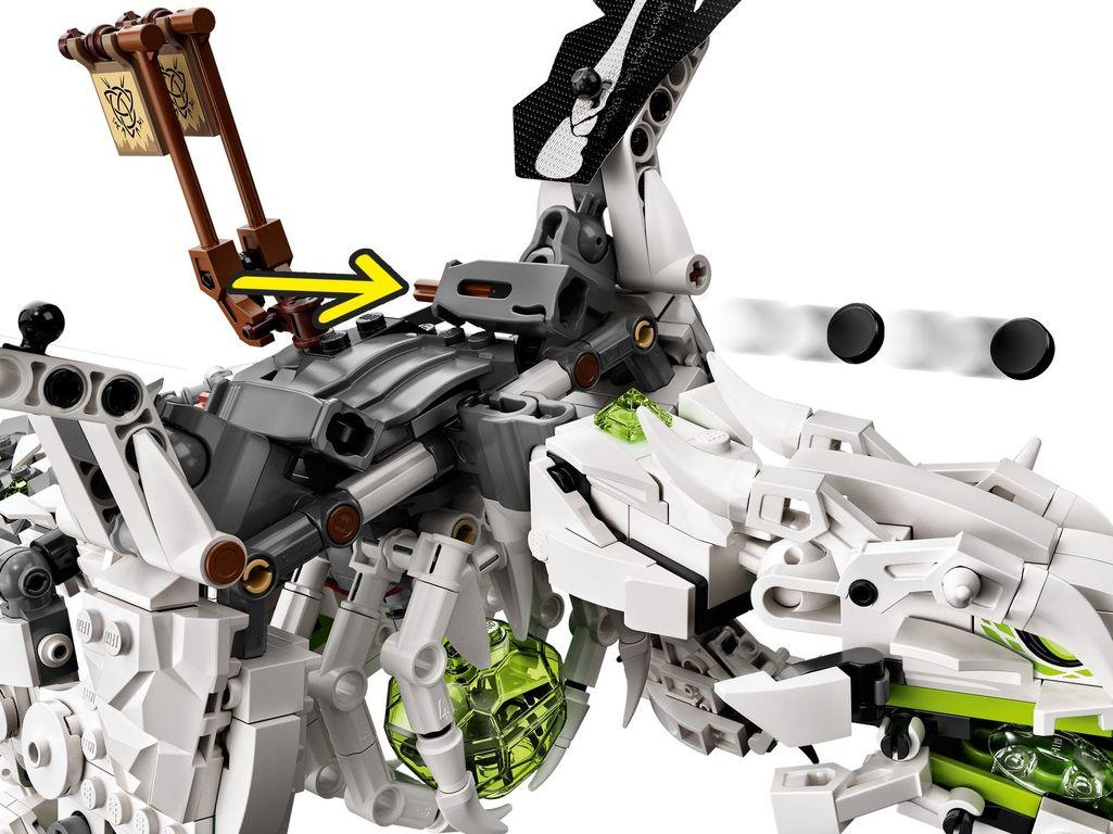 Skull Sorcerer's Dragon components