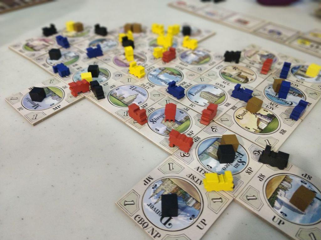 Railroad Rivals gameplay