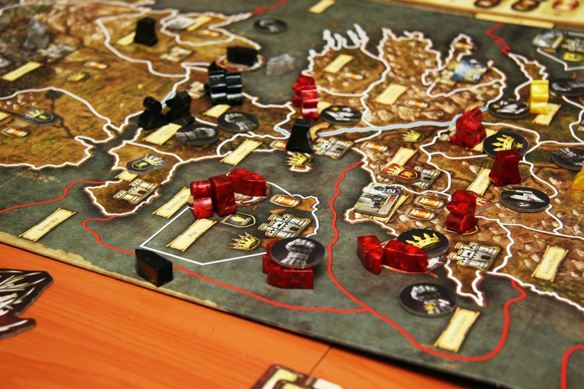 A Game of Thrones: The Board Game (Second Edition) gameplay