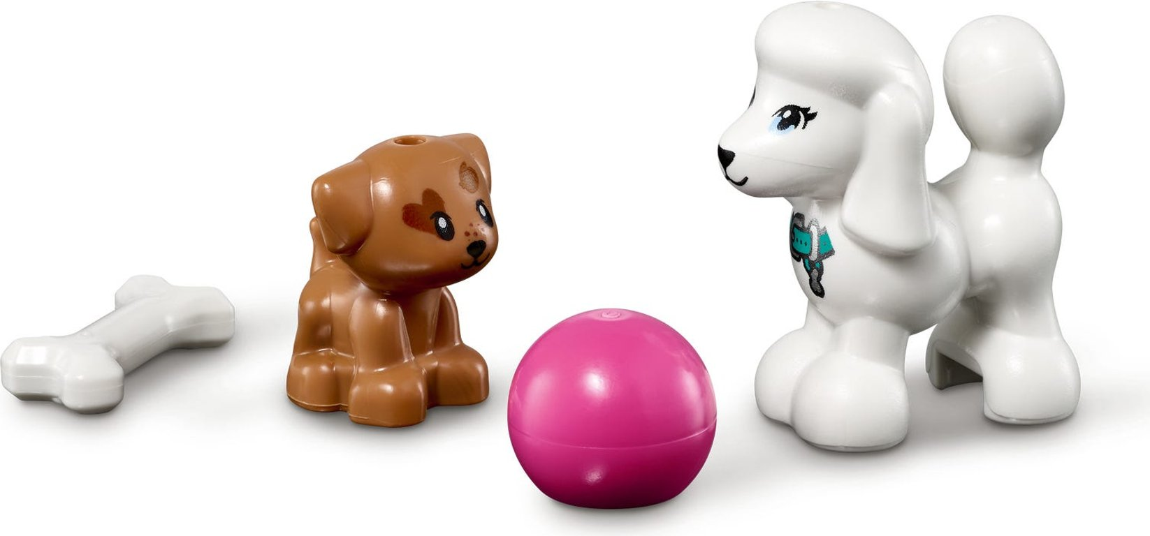 LEGO® Friends Doggy Day Care components