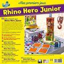 Rhino Hero Junior back of the box