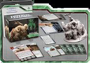 Star Wars: Imperial Assault - Bantha Rider Villain Pack components